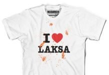 T-shirt-Laksa