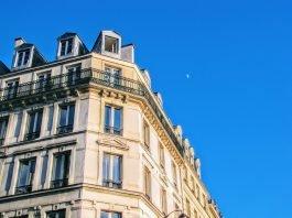 Immeuble d'appartements parisien