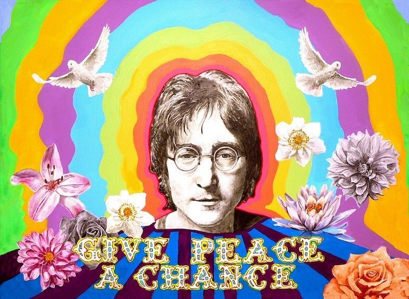 Revision du bac philo. John Lennon Peace