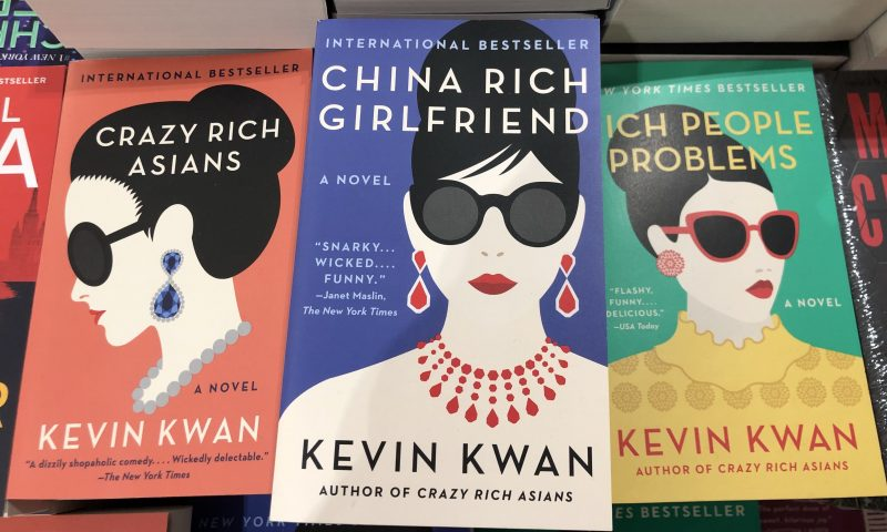 La trilogie de Kevin Kwan  Crazy Rich Asians, China Rich Girlfriend et Rich People Problems