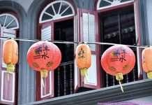 Ballade dans Chinatown Singapour