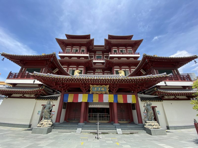 Buddha Tooth Relic Center Singapour-Singapour Live